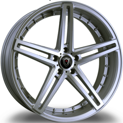 Marquee M5334 Silver Machined Wheels
