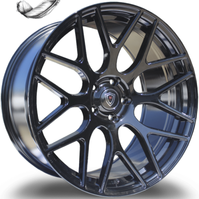 Marquee M6981 Gloss Black Wheels