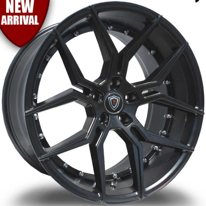 Marquee M1000 Satin Black Wheels