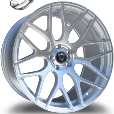 Marquee M6981 Silver Machine Wheels