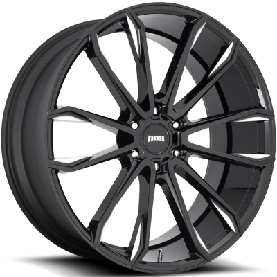 DUB Clout Gloss Black Milled