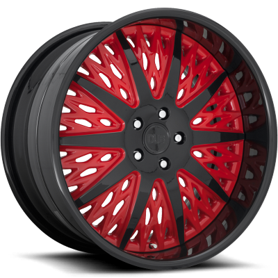 DUB Exclusive Gloss Black and Red