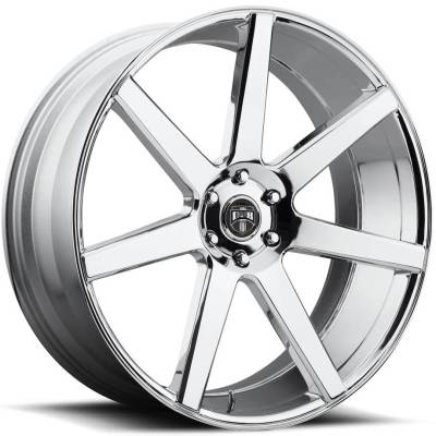 DUB Future Chrome Wheels