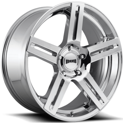 DUB ROC Chrome Wheels