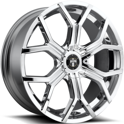 DUB Royalty Chrome Wheels