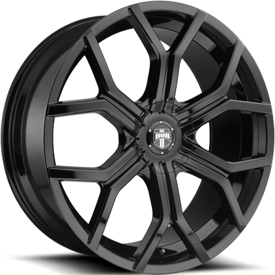 DUB Royalty Gloss Black Machined