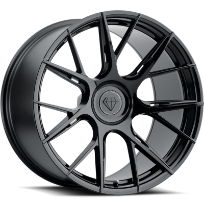 Blaque Diamond BD-F18 Gloss Black Wheels