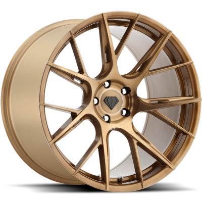 Blaque Diamond BD-F18 Bronze Wheels