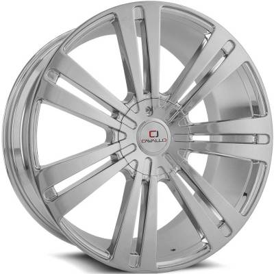Cavallo CLV-16 Chrome Wheels