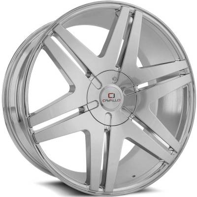 Cavallo CLV-17 Chrome Wheels