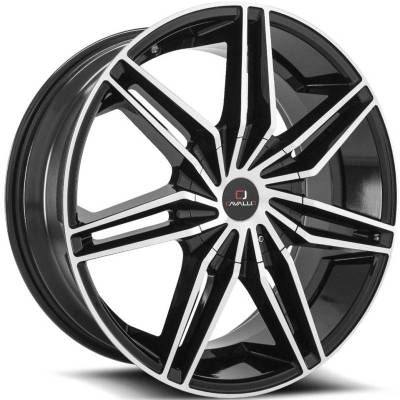 Cavallo CLV-19 Black Machined Wheels