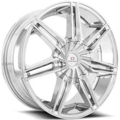 Cavallo CLV-19 Chrome Wheels