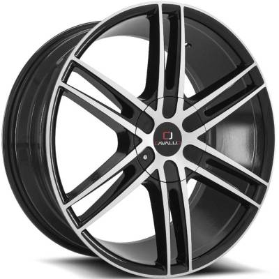 Cavallo CLV-20 Black Machined Wheels