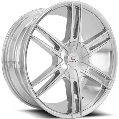 Cavallo CLV-20 Chrome Wheels