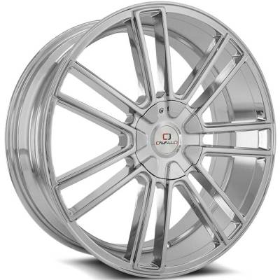 Cavallo CLV-21 Chrome Wheels
