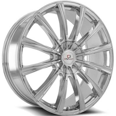 Cavallo CLV-23 Chrome Wheels