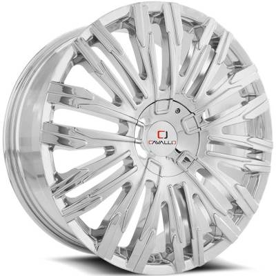 Cavallo CLV-28 Chrome Wheels