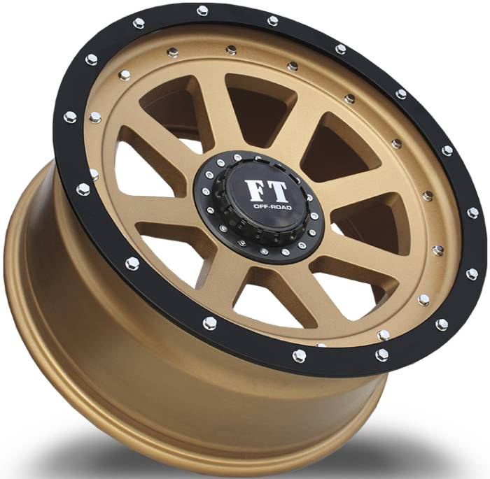 Full Throttle FT8 Matte Bronze with Matte-Black-Beadlock