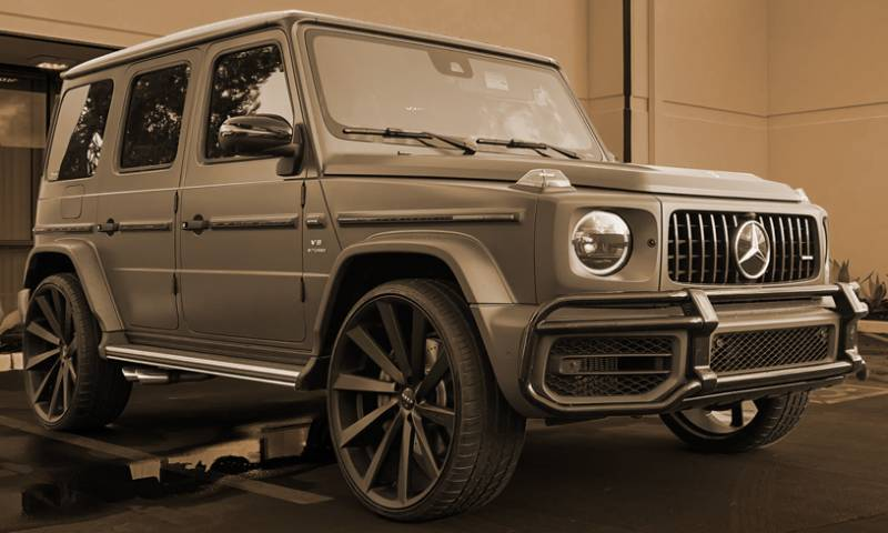 Mercedes G-Wagon on Koko Kapan Wheels