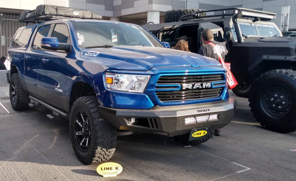 Dodge Ram 1500 on Grid Off-Road Wheels