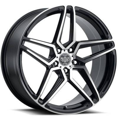 Versante VW243 Black Machined