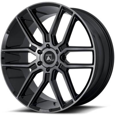 Asanti ABL-28 Gloss Black with Grey Tint