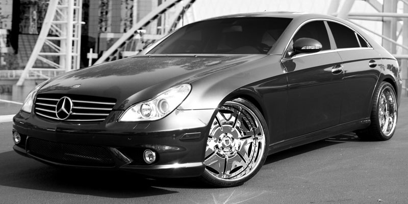 Asanti AF139 Standard Forged Series Chrome Wheels for Mercedes Benz