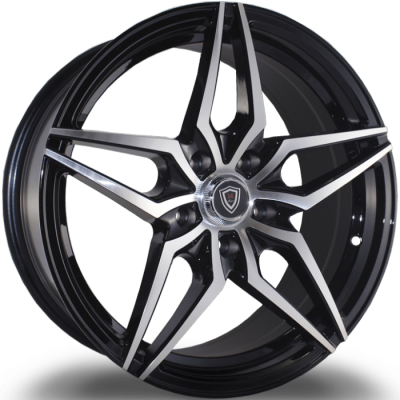 Marquee M3259 Black Machined Wheels