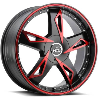 VCT V84 Black and Red