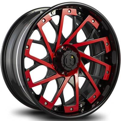 Klutch Offroad TF001 Black with Red