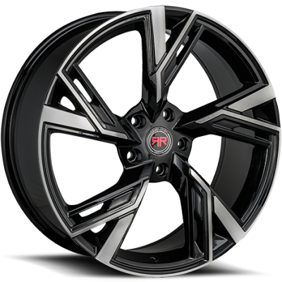 Revolution Racing R25 Black Machined Wheels
