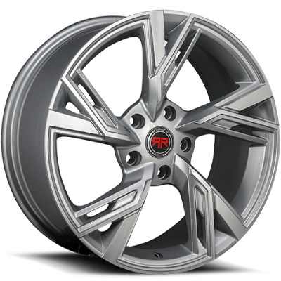 Revolution Racing R25 Silver Wheels