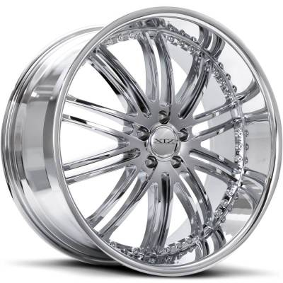 XIX X23 Chrome Wheels