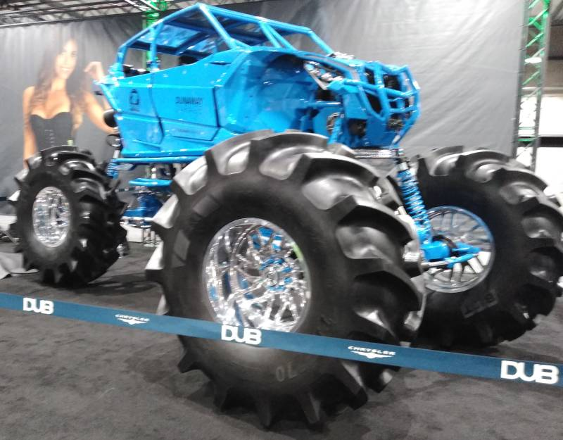 DUB Blue Monster ATV