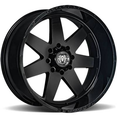 Hardcore HC14 Black Wheels