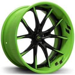 Lexani LC-102 Black and Green