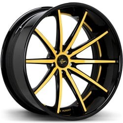 Lexani LC-108 Black and Yellow