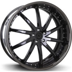Lexani LS-101 Black Wheels