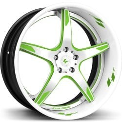 Lexani LS-103 White and Green