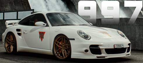 Porsche 997 on Ferrada FR5 Wheels