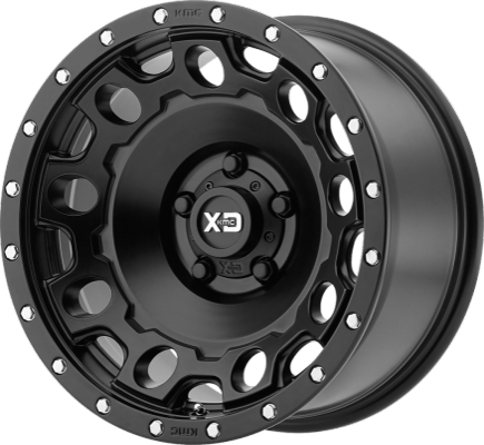 XD Series XD129 Holeshot Satin Black