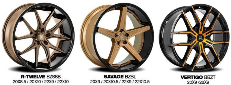 Lexani Bronze Wheels