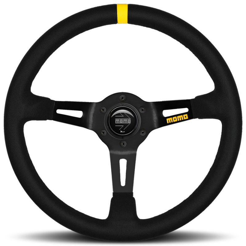 MOMO MOD. 08 Racing Suede Steering Wheel