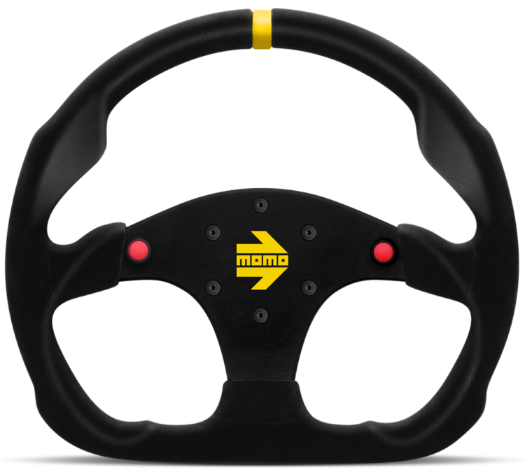 MOMO MOD. 30 Racing Steering Wheel with Buttons