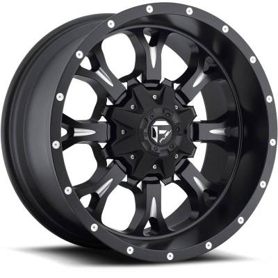 Fuel Krank D517 Black Milled