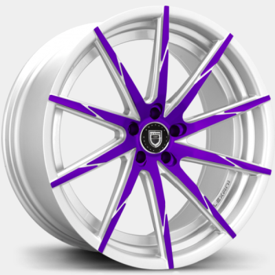 Lexani CSS-15 Purple and White