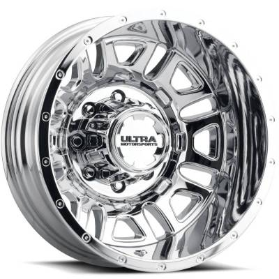 Ultra 003 Hunter Chrome Rear Dually Wheel