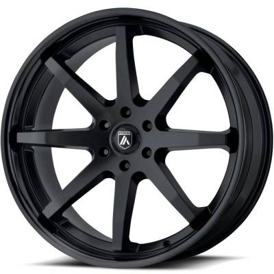 Asanti ABL-32 Kaiser Satin Black with Gloss Black Lip