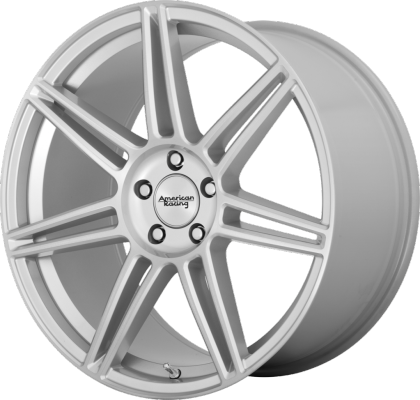 American Racing AR935 Redline Brushed Silver