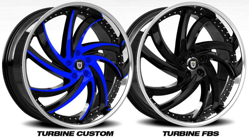 Lexani Turbine Wheels